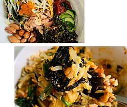 韩式金枪鱼鱼子拌饭的做法