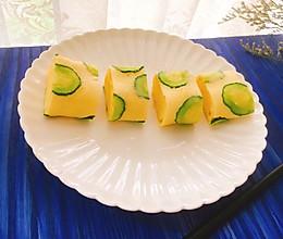 小清新黄瓜厚蛋烧的做法