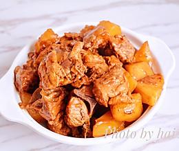 鸡架子炖土豆的做法
