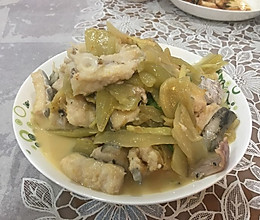 咸菜烩海鳗/鳗鱼的做法