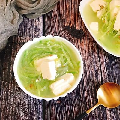 青萝卜豆腐小虾米汤 营养补钙减肥瘦身