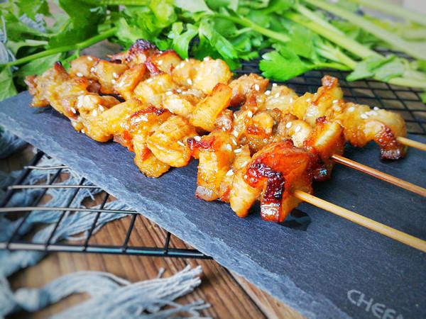 烤五花肉串