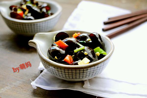 清爽小菜~凉拌木耳的做法