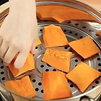 糯糯南瓜饼,非油炸的!的做法图解2
