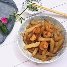冬瓜炒虾仁 减脂又美味