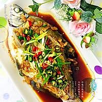 【私房冬菜蒸鳊鱼】的做法图解5