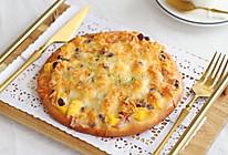 低热量的水果培根披萨的做法