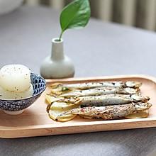 盐煎多春鱼-减肥肉食#给老爸做道菜#