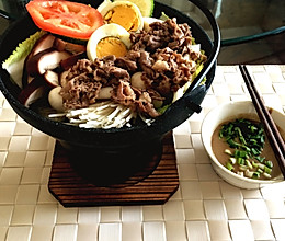 日式小火锅~寿喜烧的做法
