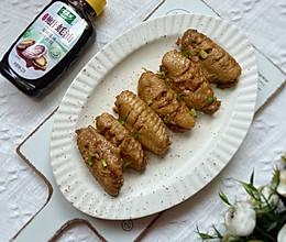 #做饭吧!亲爱的#蒜香鸡翅的做法