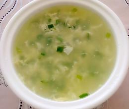 葱花鸡蛋汤的做法