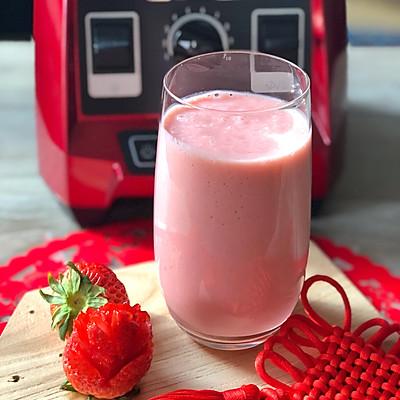 草莓奶昔健康美颜,红红火火过个大年!