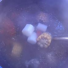山药玉米红萝卜汤