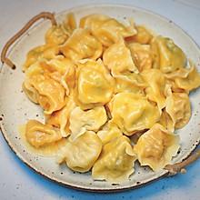 水饺这样吃 营养又美味:羊肉胡萝卜饺子 羊肉香菜饺子
