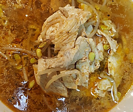水煮鸡肉的做法