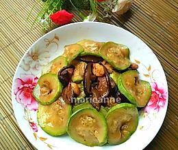 香菇炒西葫芦片的做法