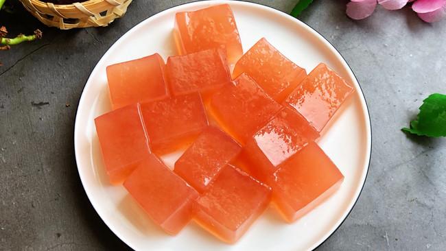 #炎夏消暑就吃「它」#柠檬葡萄果冻的做法