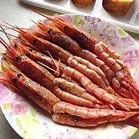 香煎阿根廷红虾的做法图解2