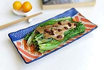 麻酱山核桃油麦菜的做法