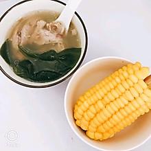 瓦罐煨筒子骨排骨海带汤