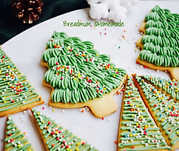 糖霜饼干-圣诞树装饰的做法