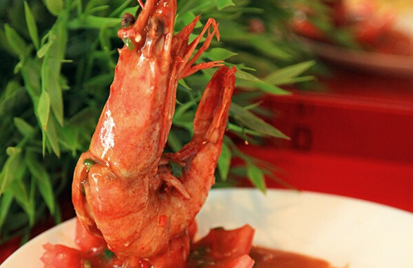 年夜饭必备—泰式冬阴功浓汤虾