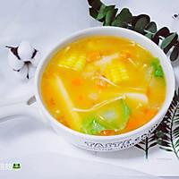 番茄年糕蔬菜汤的做法图解15