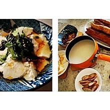#换着花样吃早餐#自制油条+豆腐花