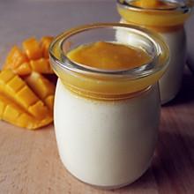 芒果奶油奶酪布丁