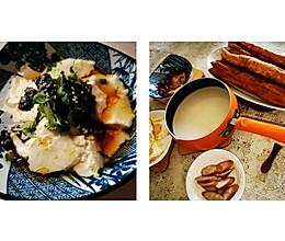 #换着花样吃早餐#自制油条+豆腐花的做法