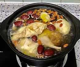 十全大补-榴莲鸡汤的做法