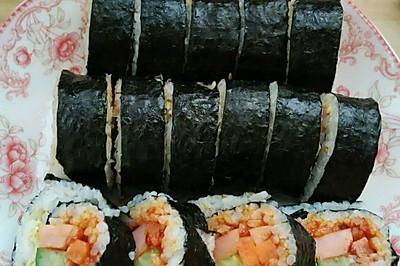 米饭吃不了怎么办~紫菜卷啊!
