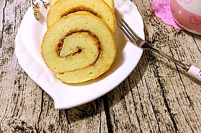 自制肉松蛋糕卷