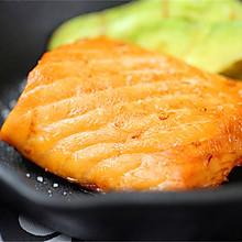 嵌入式烤箱食谱——原味香烤三文鱼