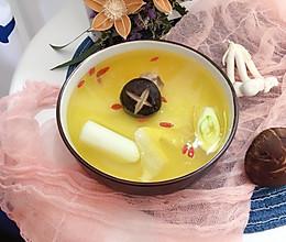 菌菇鸡清汤火锅汤底#不吃火锅怎么算过冬##升降火锅#的做法