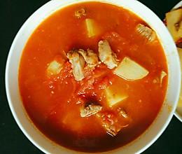 番茄炖牛腩(汤汁超浓郁版)的做法