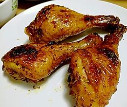 百里香烤鸡腿的做法
