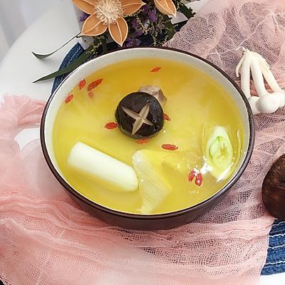 菌菇鸡清汤火锅汤底