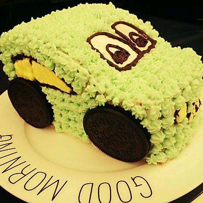 汽车蛋糕(六寸戚风底)