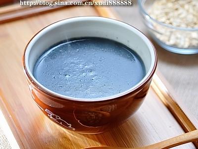 控脂降糖的燕麦芝麻豆浆的做法