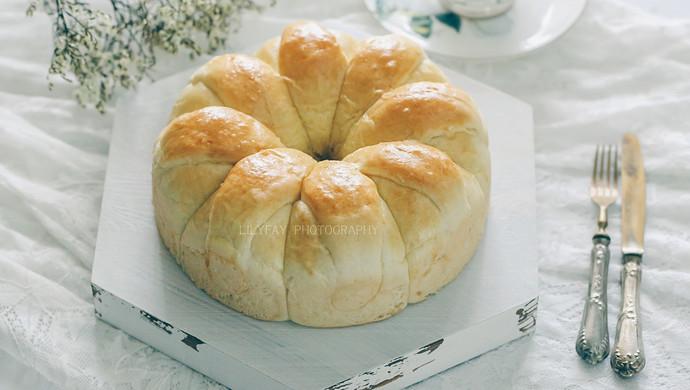 皇冠花朵面包