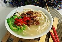 #憋在家里吃什么#明天初七吃面条的日子,简单切面自家做吧的做法