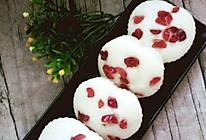 蔓越莓米糕的做法