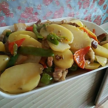 土豆式回锅肉