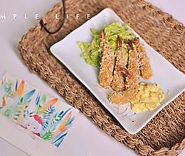 鲜嫩炸虾+美味沙司的做法