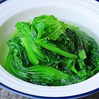 蒜蓉蚝油生菜#春季减肥,边吃边瘦#的做法图解8