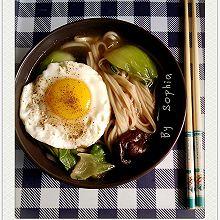 菌菇青菜面