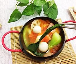 西红柿火锅#竹木火锅,文艺腹兴#的做法