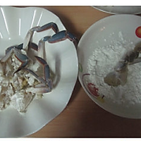 姜葱炒梭子蟹的做法图解3