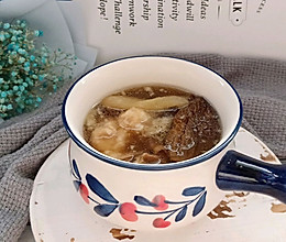 鲜香菌菇肉丸汤的做法